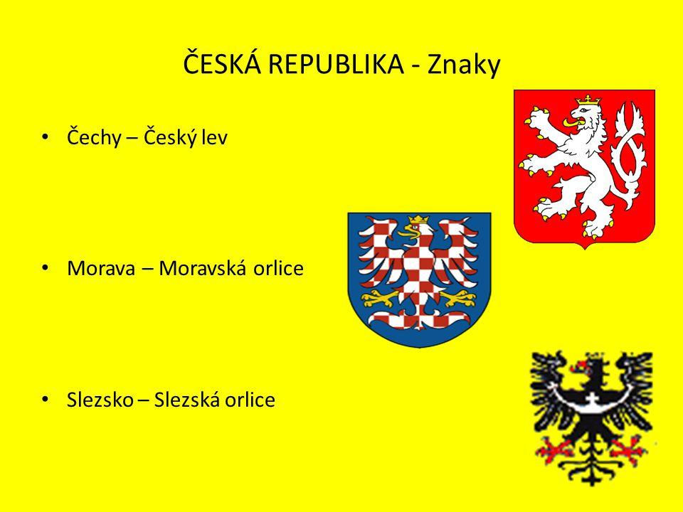 ČESKÁ REPUBLIKA - Znaky