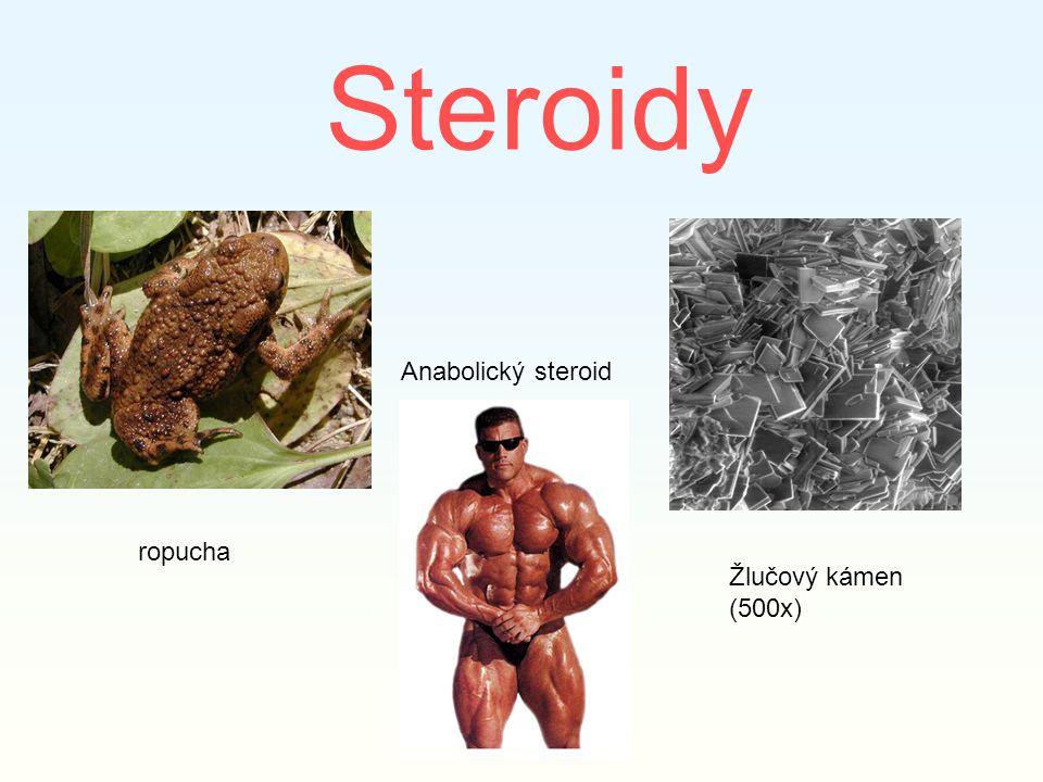 Steroidy Anabolický steroid ropucha Žlučový kámen (500x)