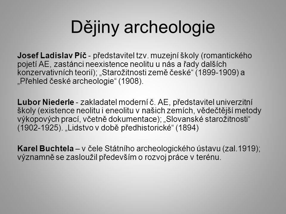 Dějiny archeologie
