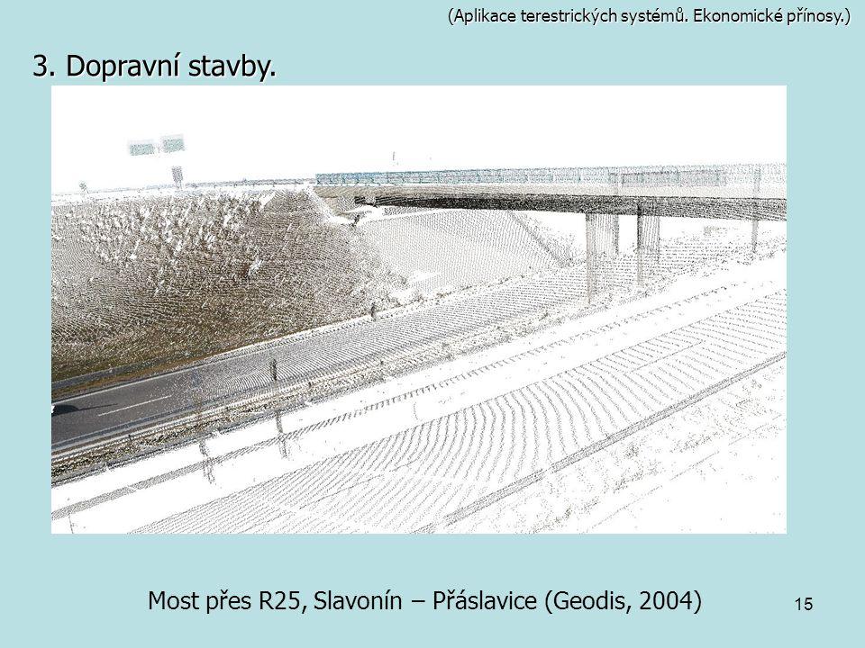 Most přes R25, Slavonín – Přáslavice (Geodis, 2004)