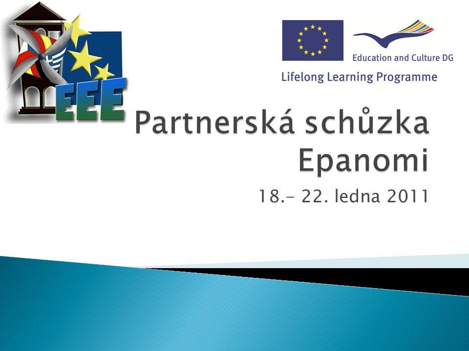 Partnerská schůzka Epanomi