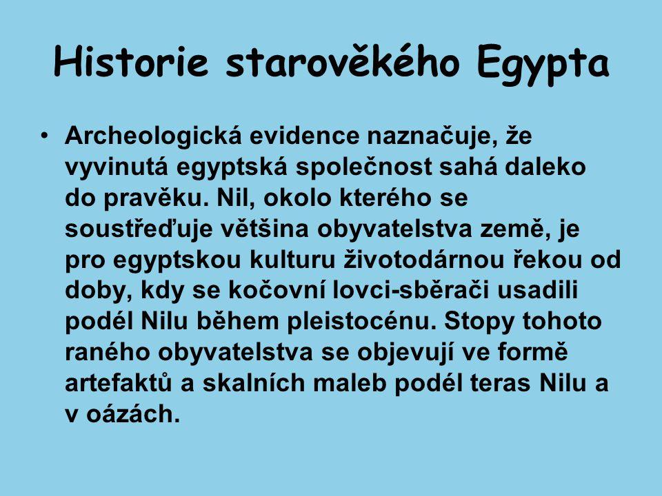 Historie starověkého Egypta