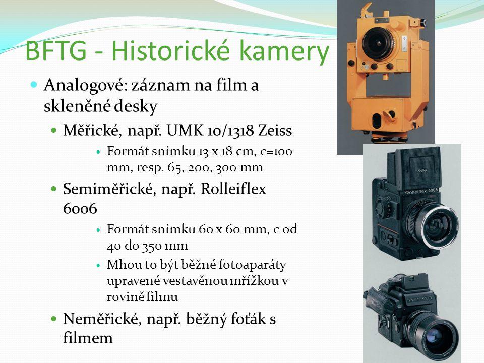 BFTG - Historické kamery