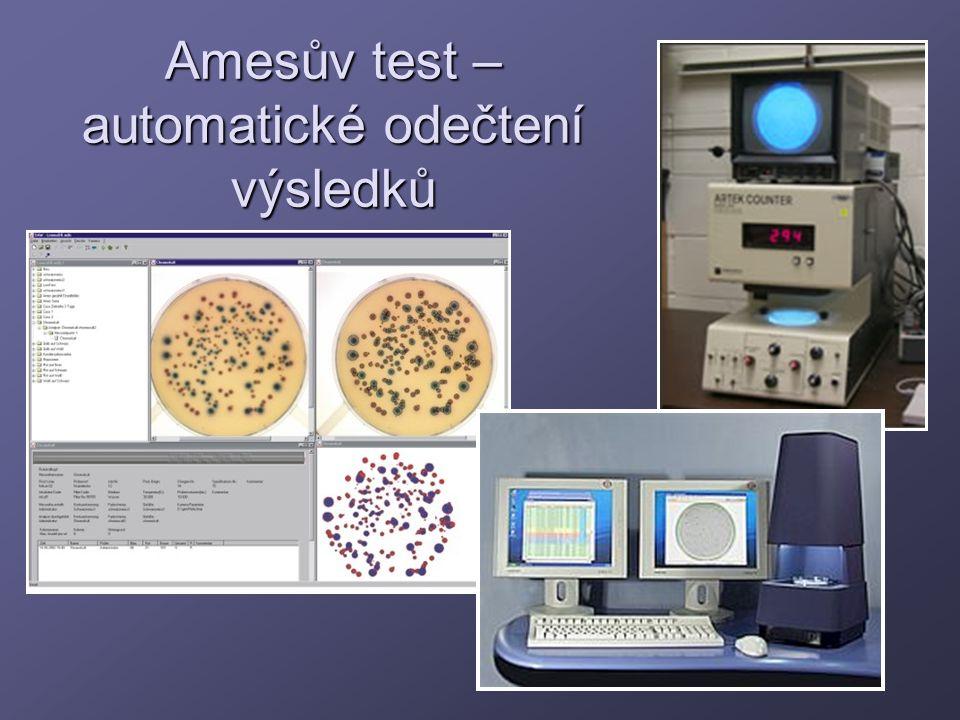 Amesův test – automatické odečtení výsledků