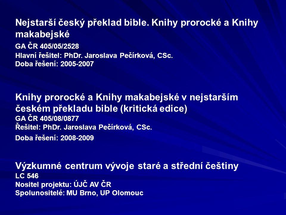 Výzkumné centrum vývoje staré a střední češtiny