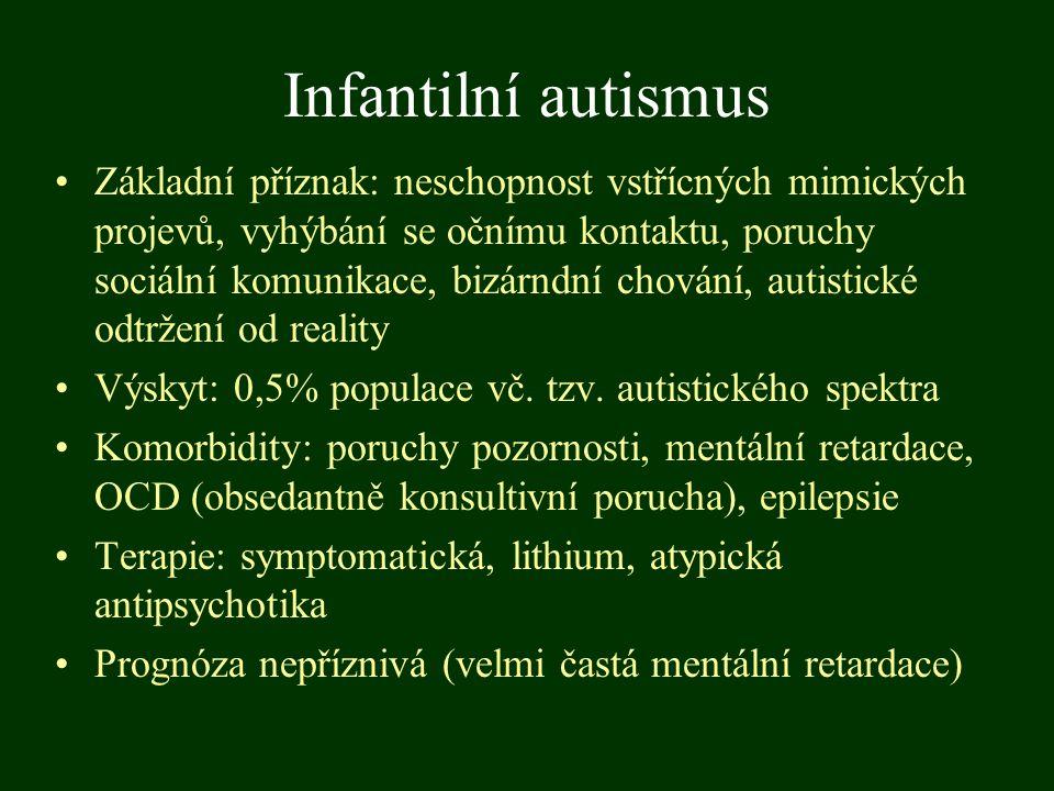 Infantilní autismus