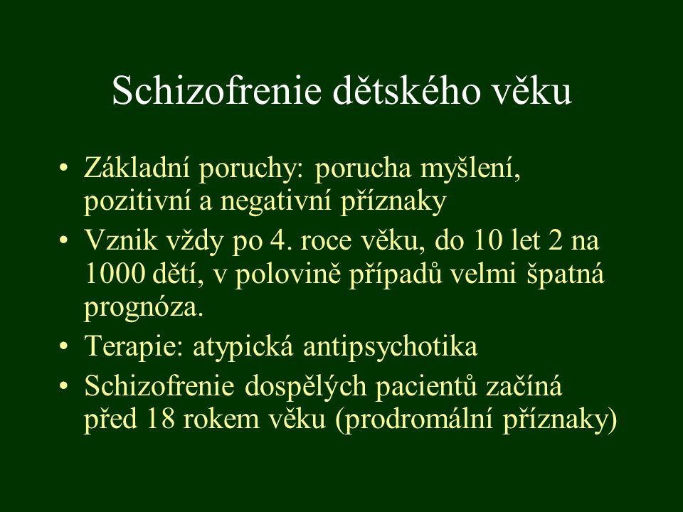 Schizofrenie dětského věku