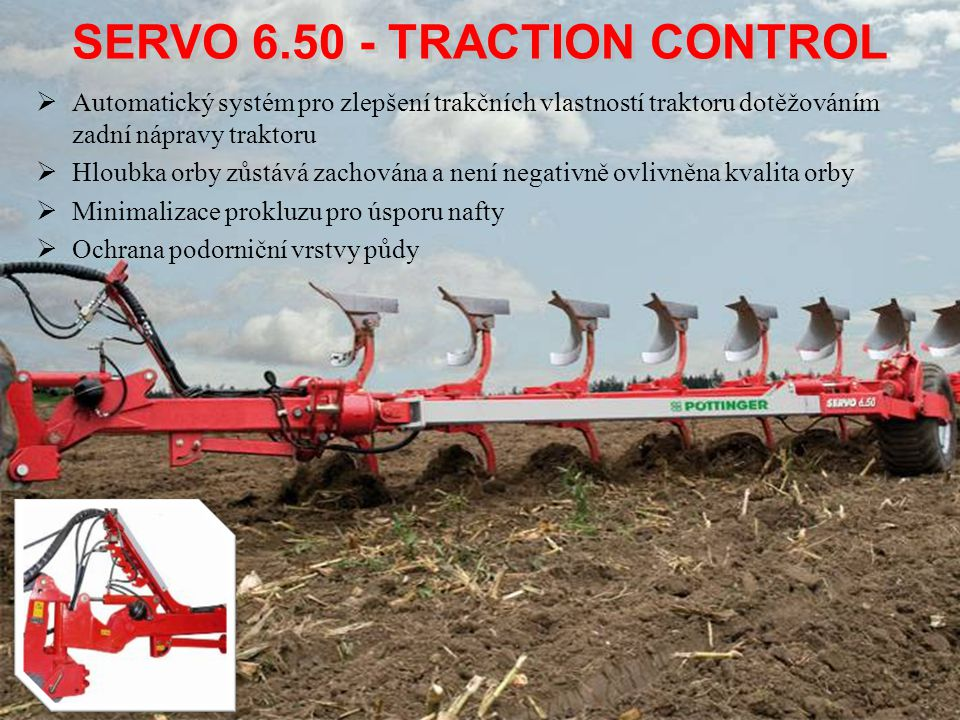SERVO 6.50 - TRACTION CONTROL