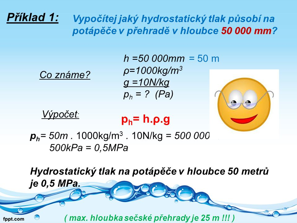 ( max. hloubka sečské přehrady je 25 m !!! )