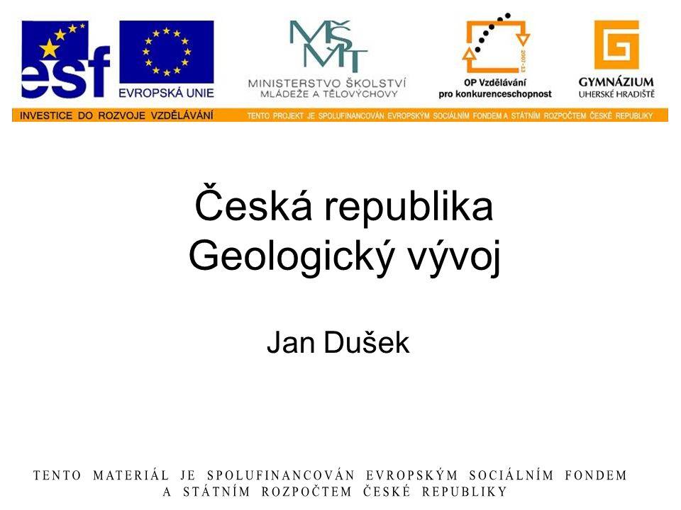 Česká republika Geologický vývoj