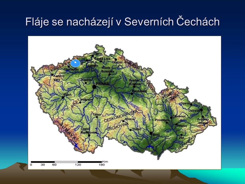 Fláje se nacházejí v Severních Čechách