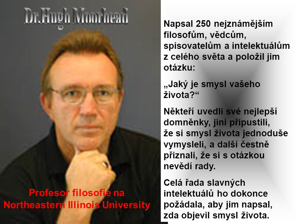 Profesor filosofie na Northeastern Illinois University