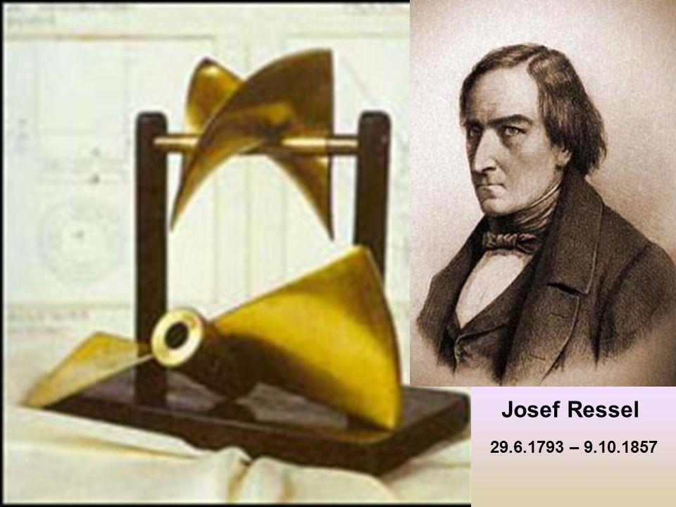 29.6.1793 – 9.10.1857 Josef Ressel