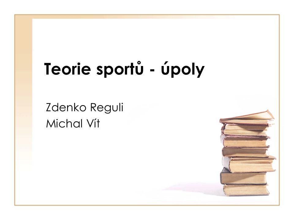 Zdenko Reguli Michal Vít