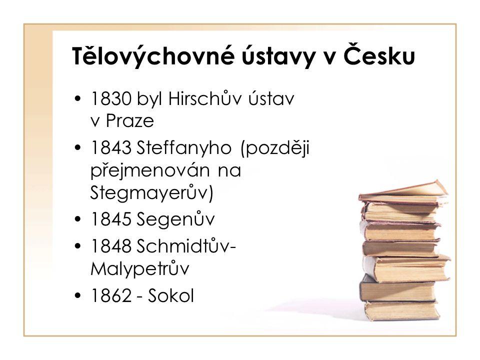 Tělovýchovné ústavy v Česku