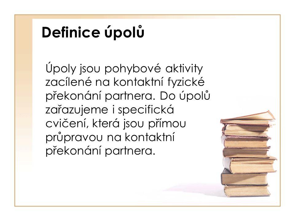 Definice úpolů