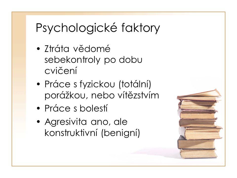Psychologické faktory