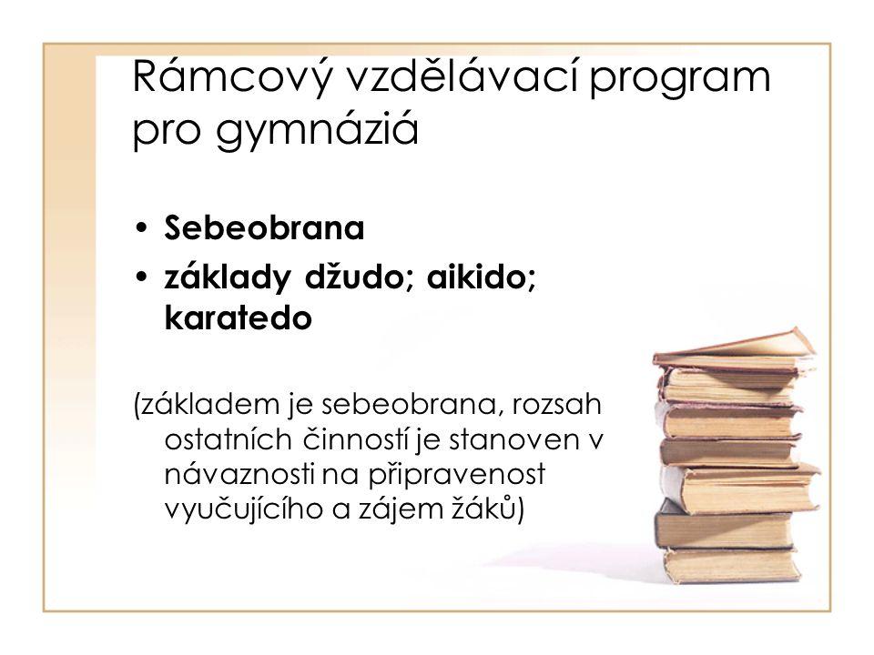 Rámcový vzdělávací program pro gymnáziá