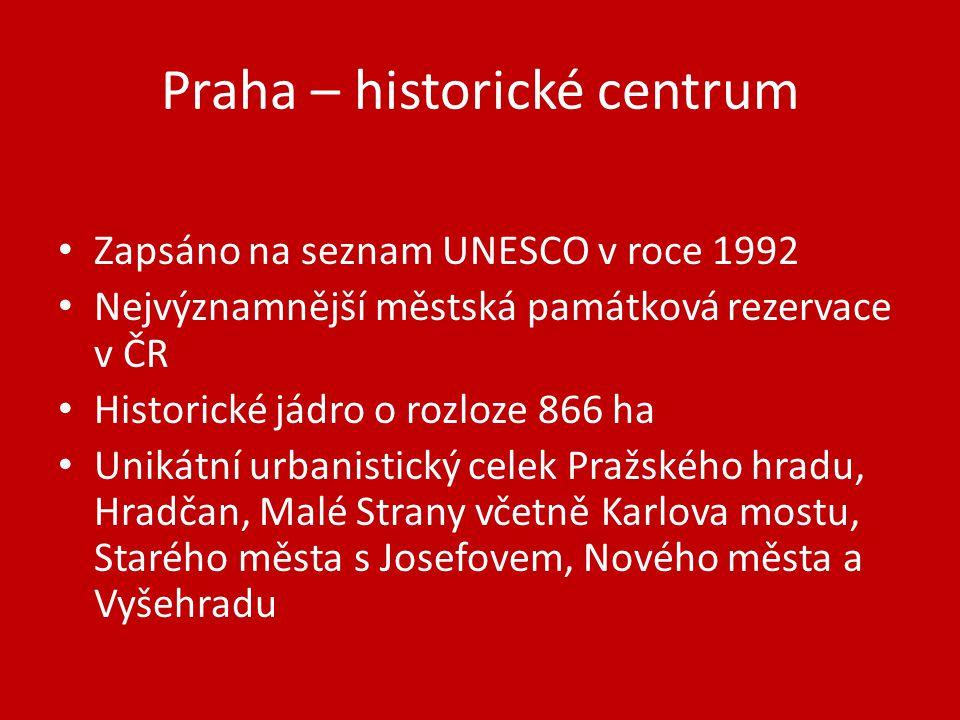 Praha – historické centrum