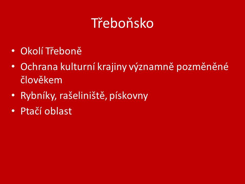Třeboňsko Okolí Třeboně