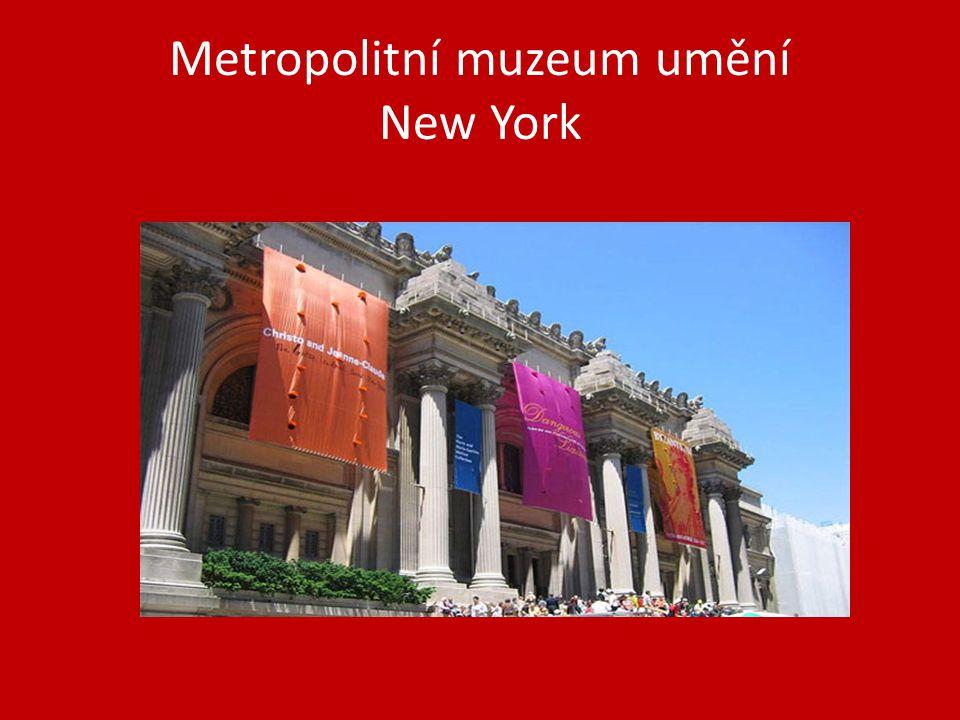Metropolitní muzeum umění New York