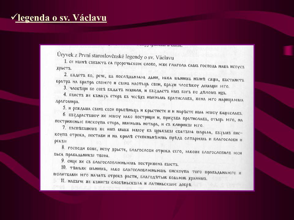 legenda o sv. Václavu