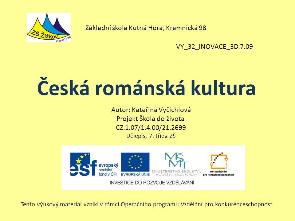 Česká románská kultura