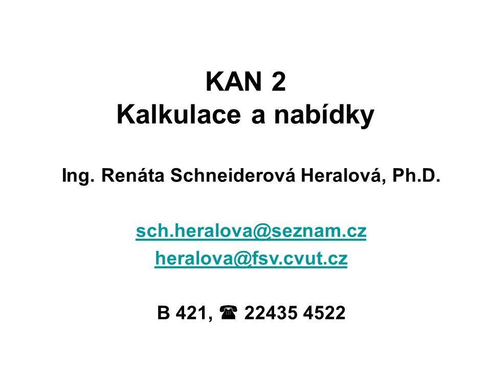 Ing. Renáta Schneiderová Heralová, Ph.D.