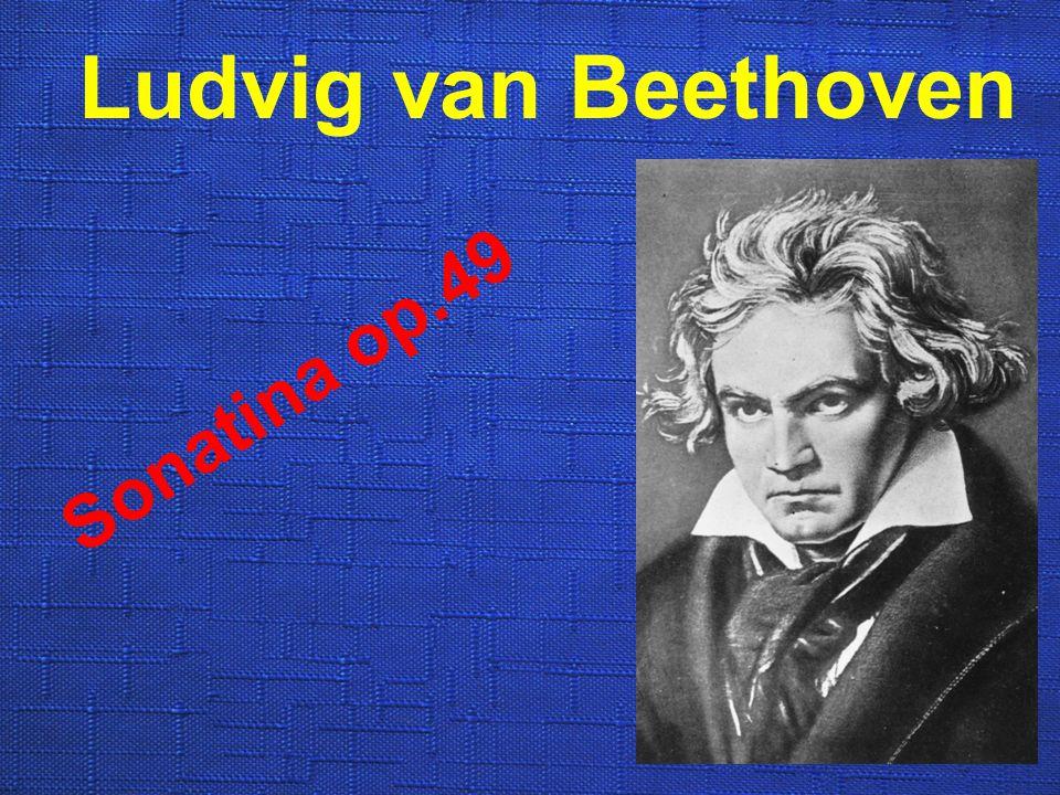 Ludvig van Beethoven Sonatina op.49