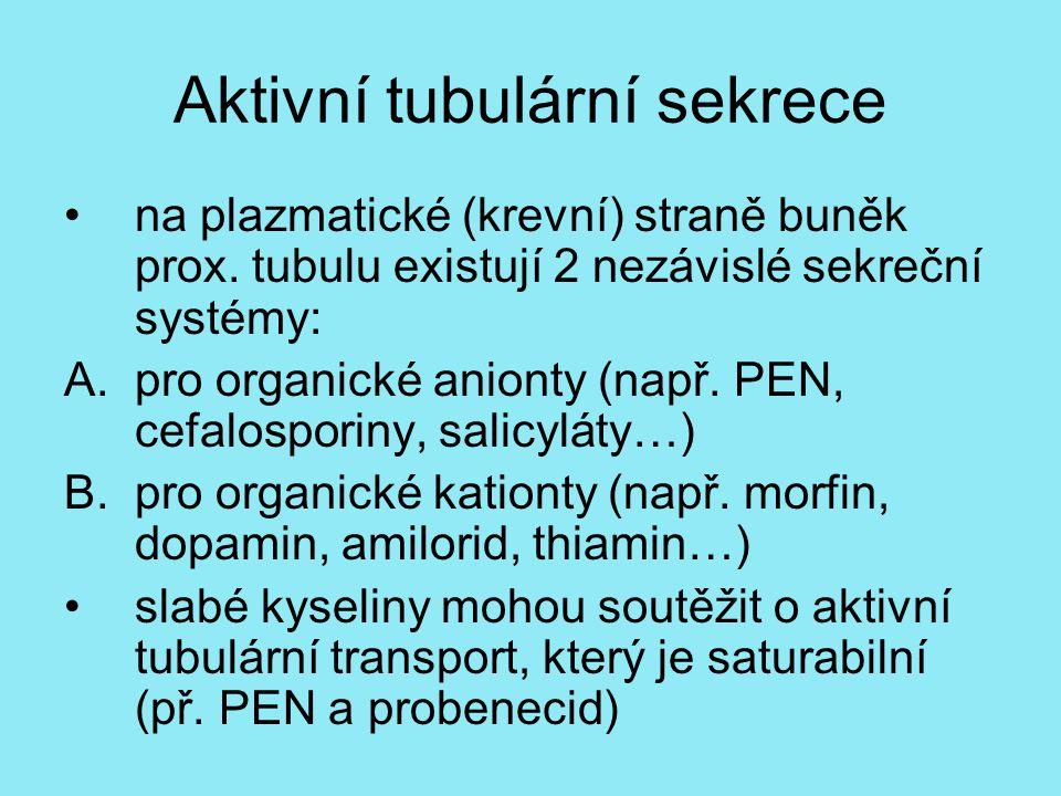 Aktivní tubulární sekrece