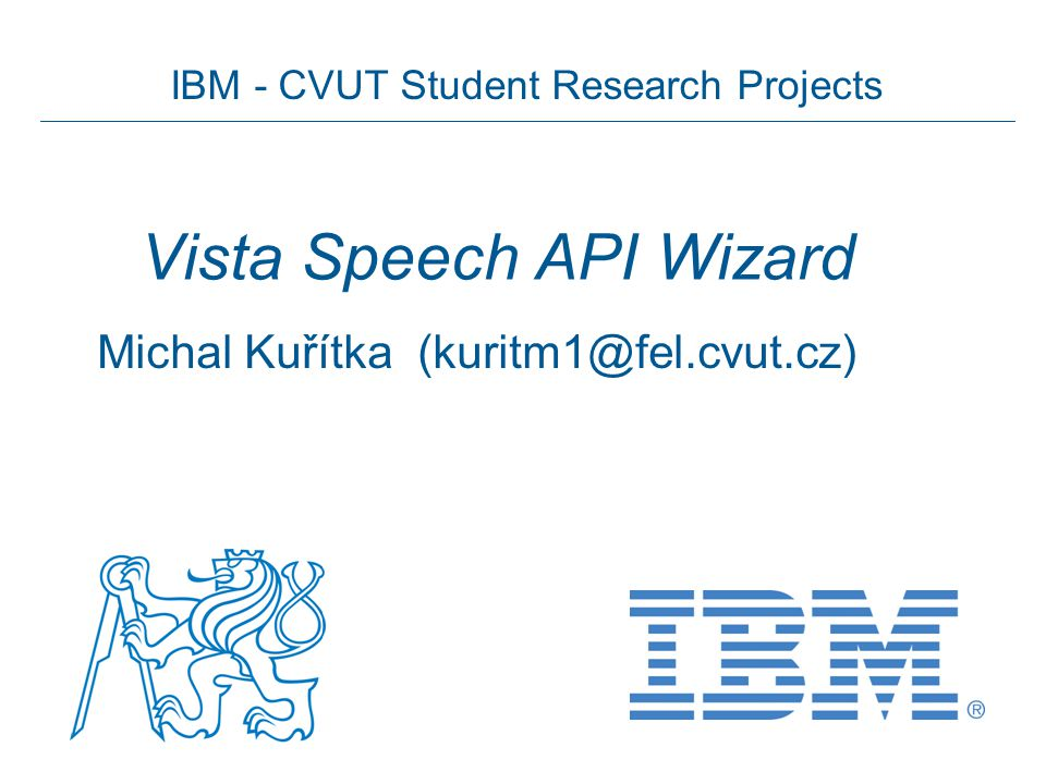 Vista Speech API Wizard