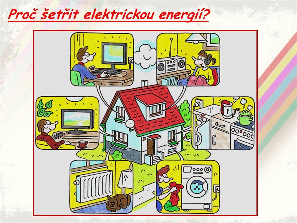 Proč šetřit elektrickou energií