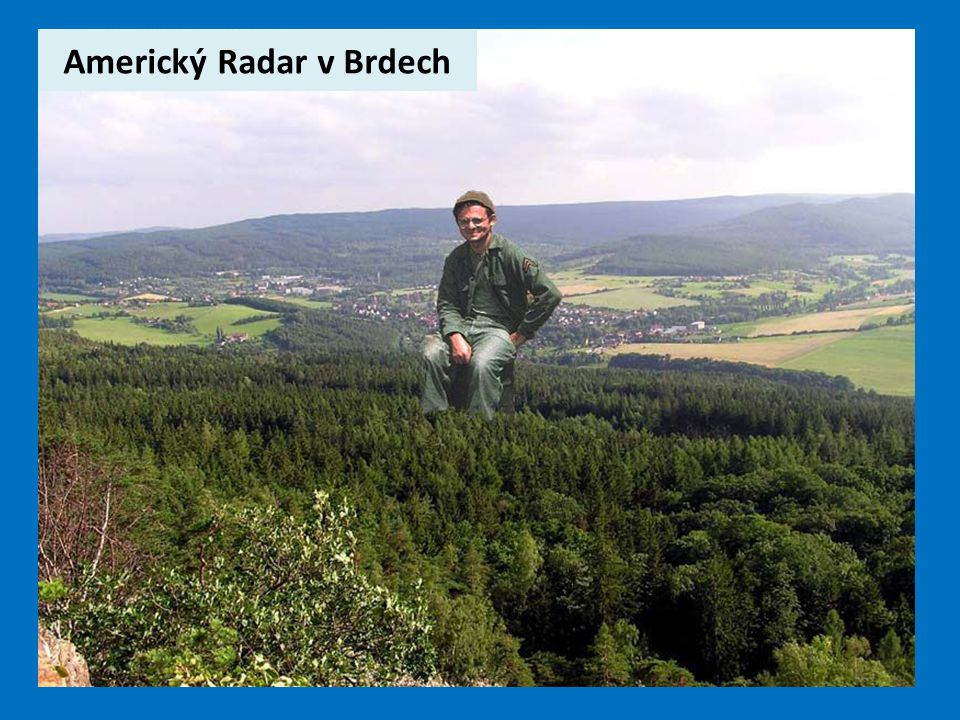 Americký Radar v Brdech