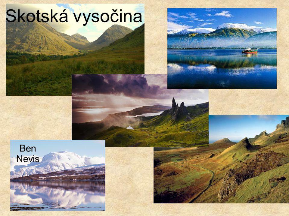 Skotská vysočina Ben Nevis