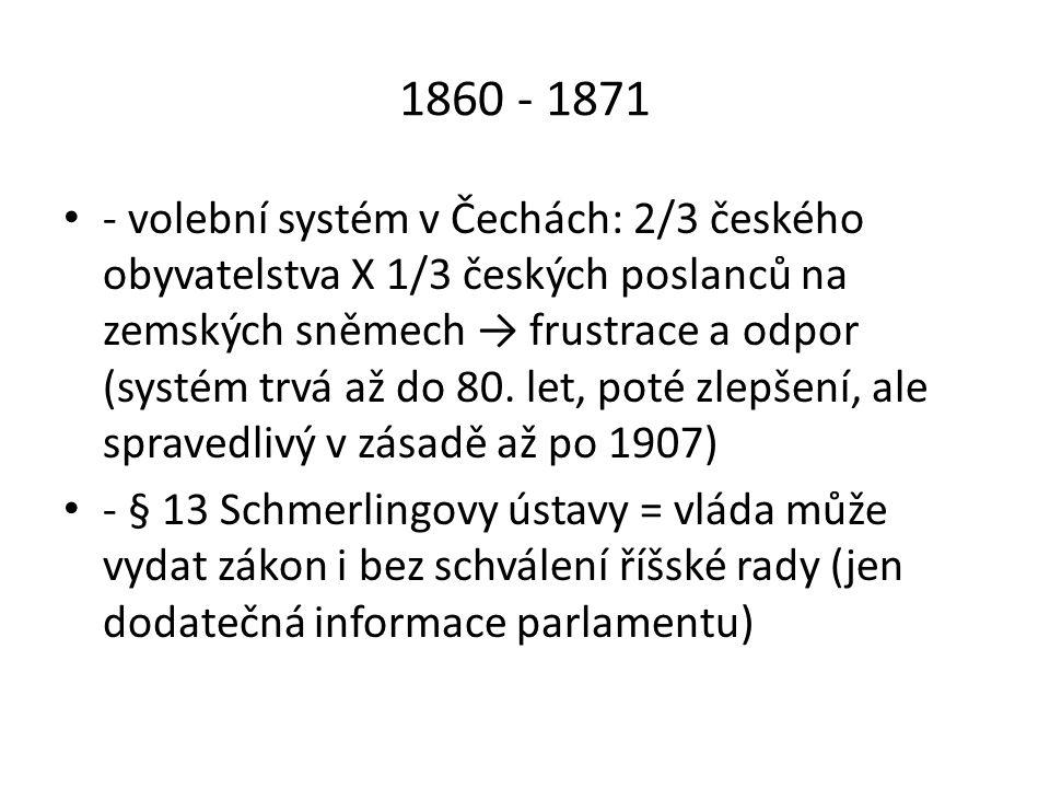 1860 - 1871
