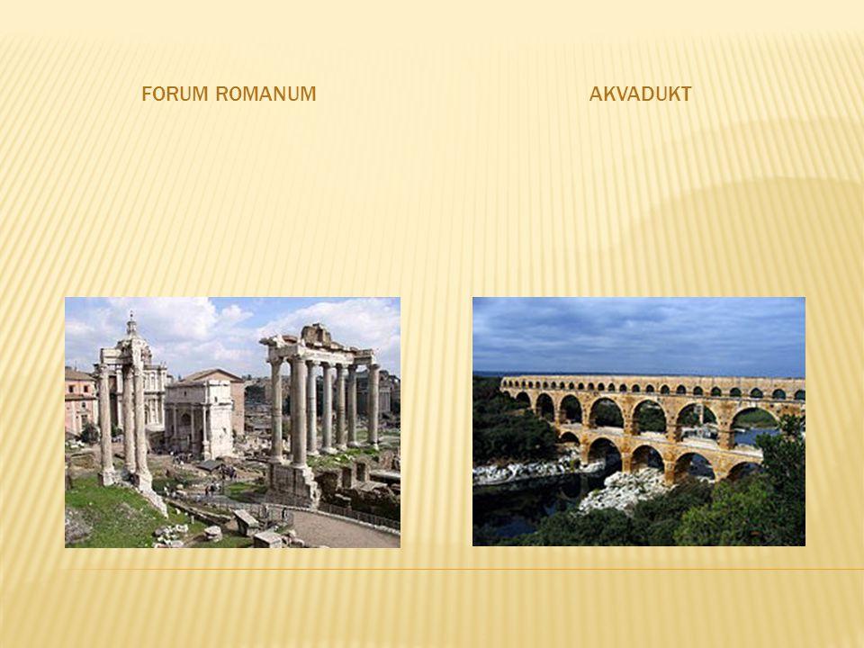 Forum Romanum Akvadukt