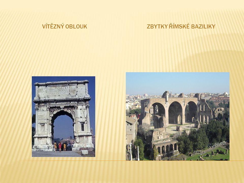 Zbytky římské baziliky