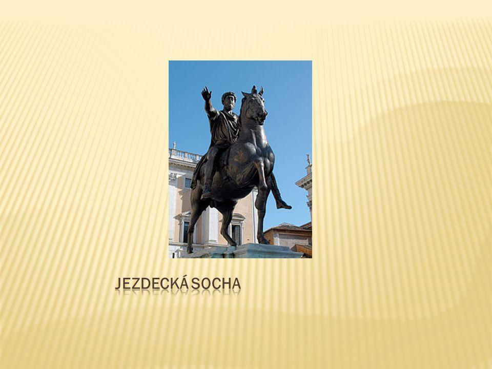 Jezdecká socha