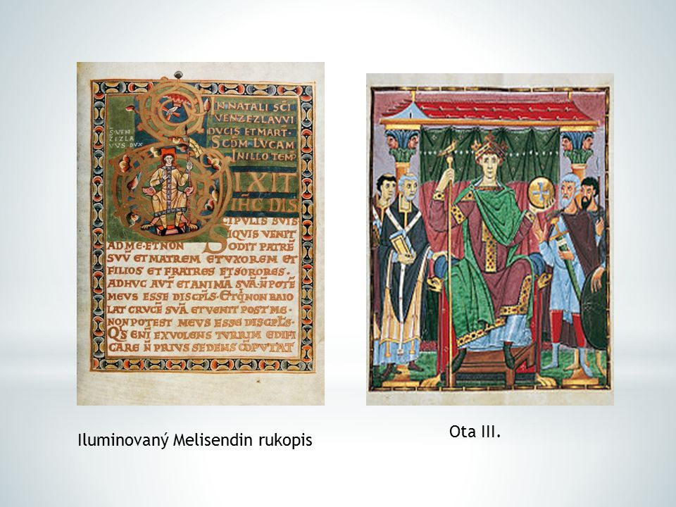 Ota III. Iluminovaný Melisendin rukopis