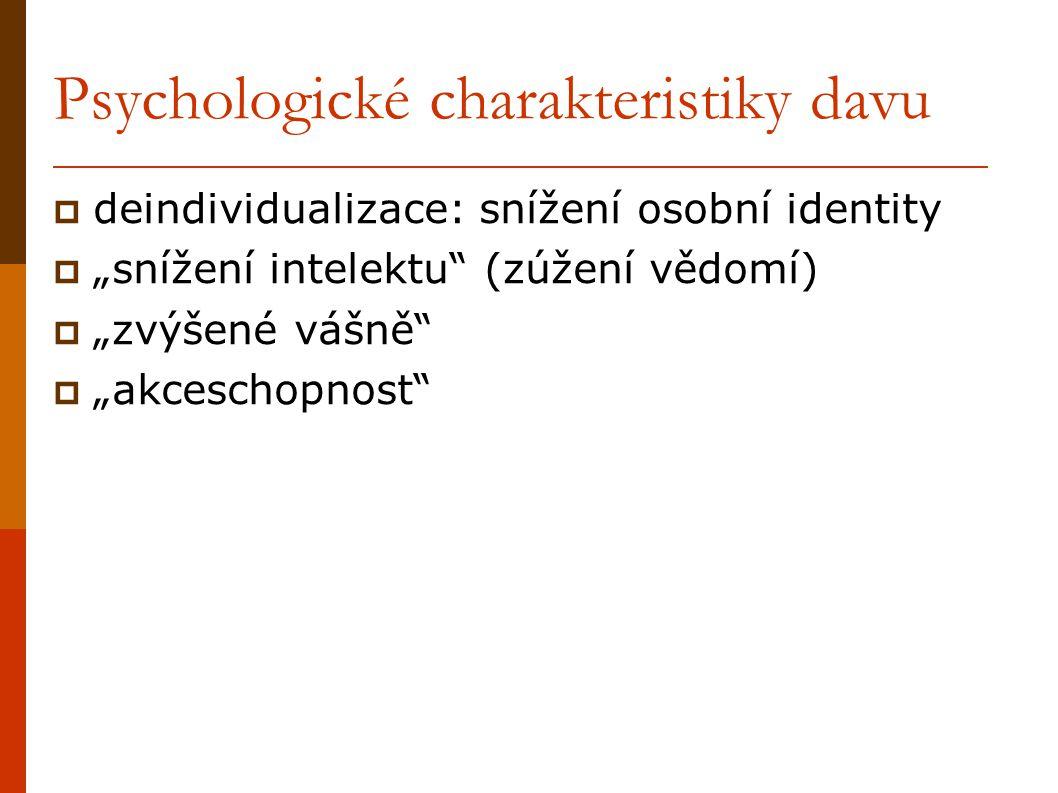 Psychologické charakteristiky davu