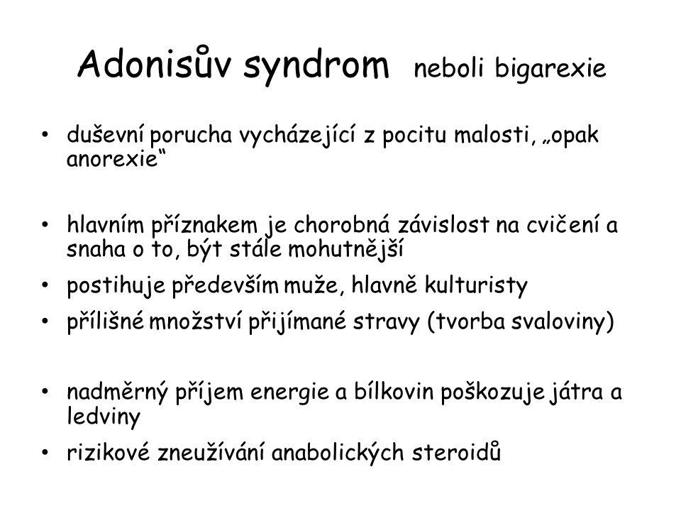 Adonisův syndrom neboli bigarexie