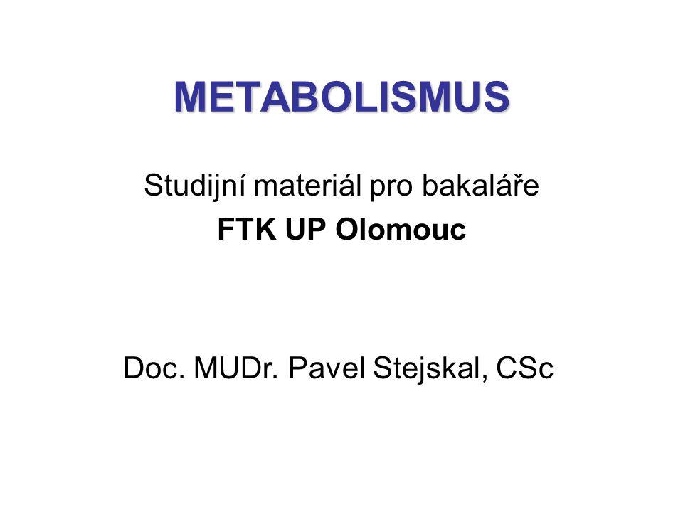 Studijní materiál pro bakaláře FTK UP Olomouc