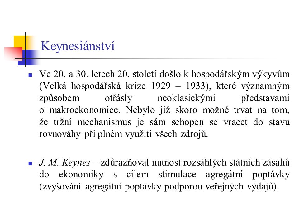 Keynesiánství