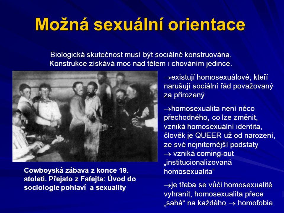 Možná sexuální orientace