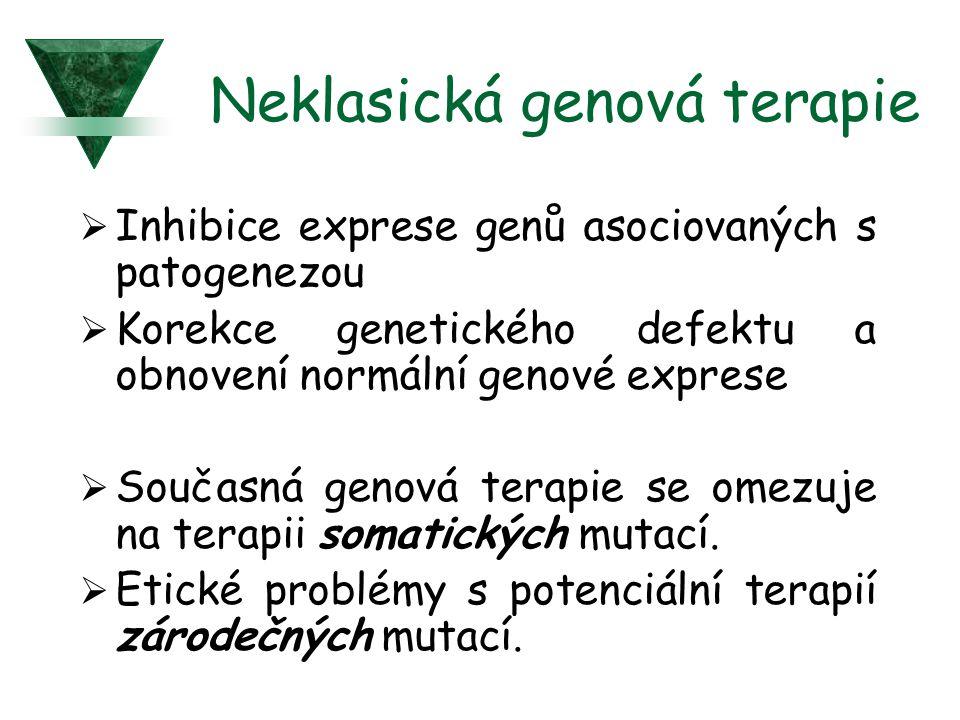 Neklasická genová terapie