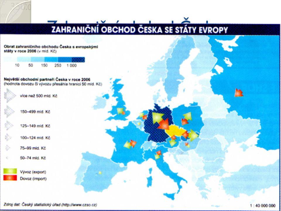 Zahraniční obchod Česka