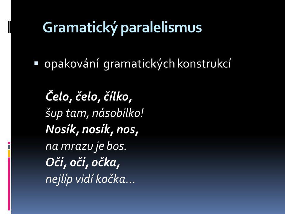 Gramatický paralelismus