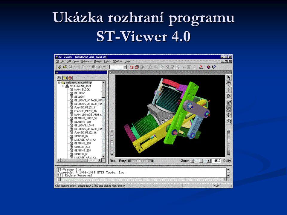 Ukázka rozhraní programu ST-Viewer 4.0