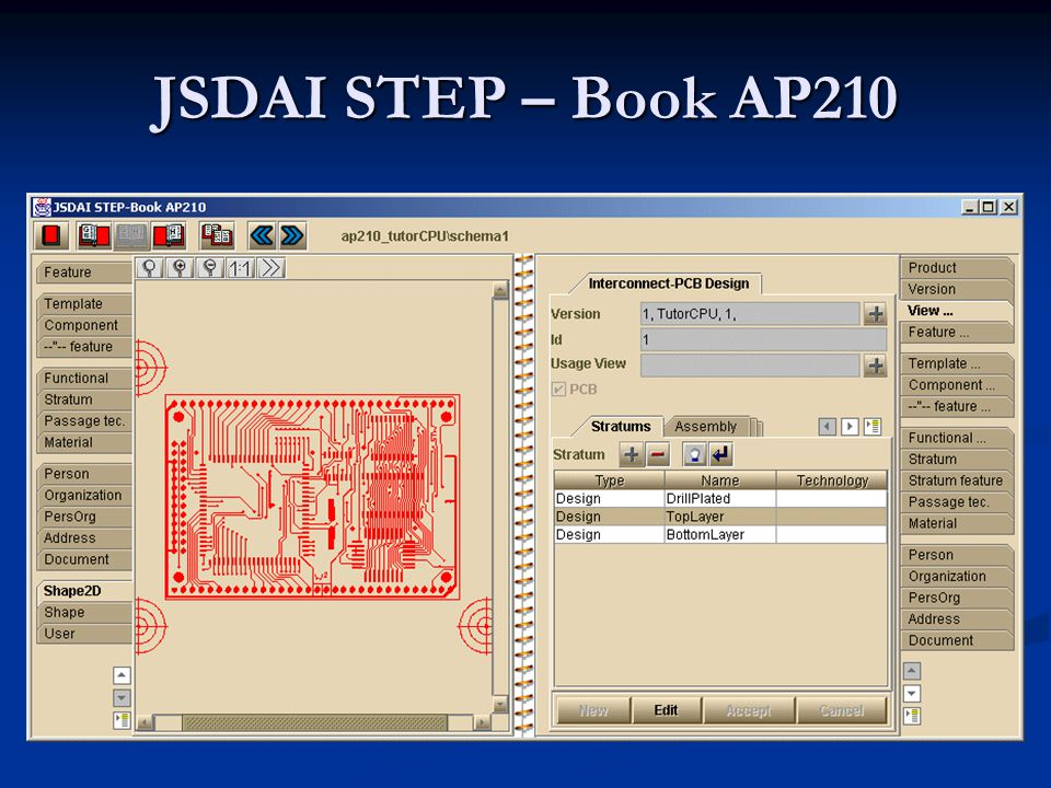 JSDAI STEP – Book AP210
