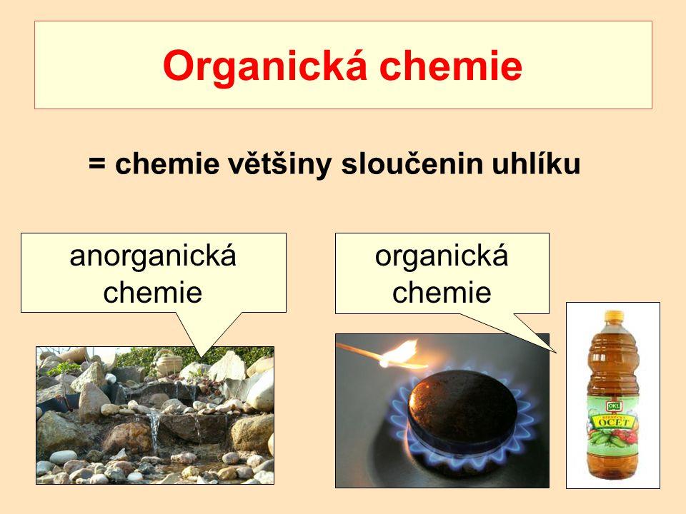 = chemie většiny sloučenin uhlíku